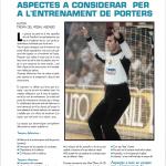 Balonmano Lleida - entrenament porters