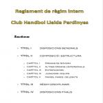 Handbol Lleida código interno