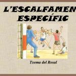 Handbol Lleida - Article Txema del Rosal escalfament específic