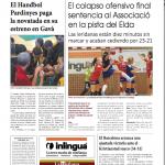 Handbol Lleida La Mañana cronica Gava