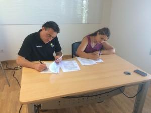 signatura CHPardinyes i EH Vendrell
