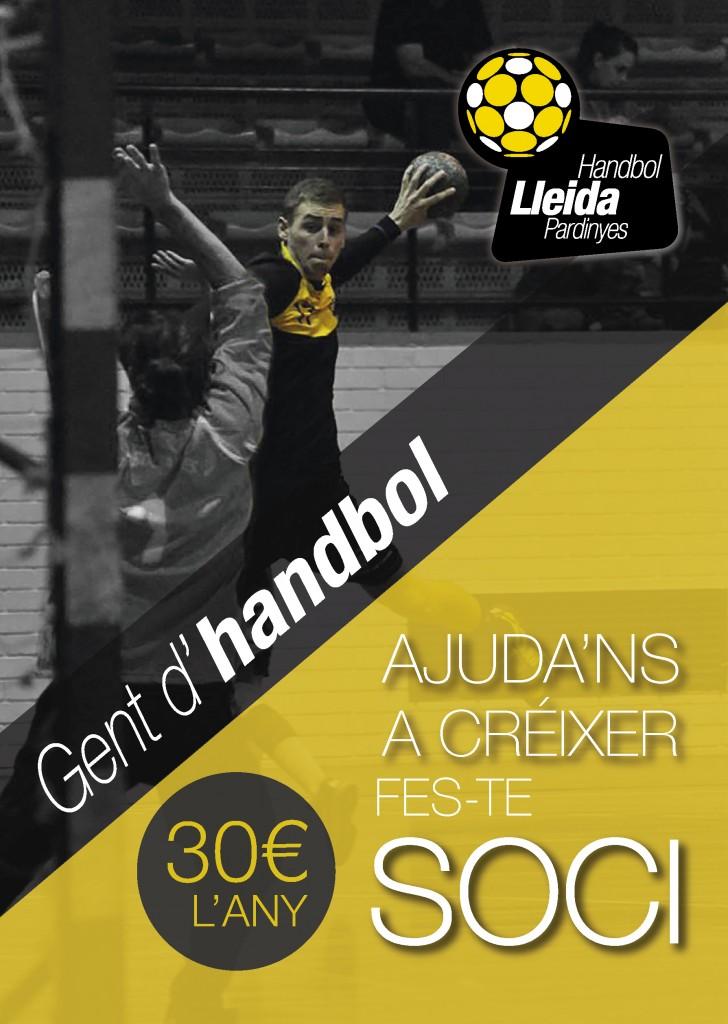 Handbol Lleida socis 2015-2016