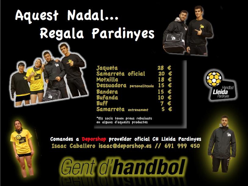 Handbol Lleida Pardinyes-Regals Nadal