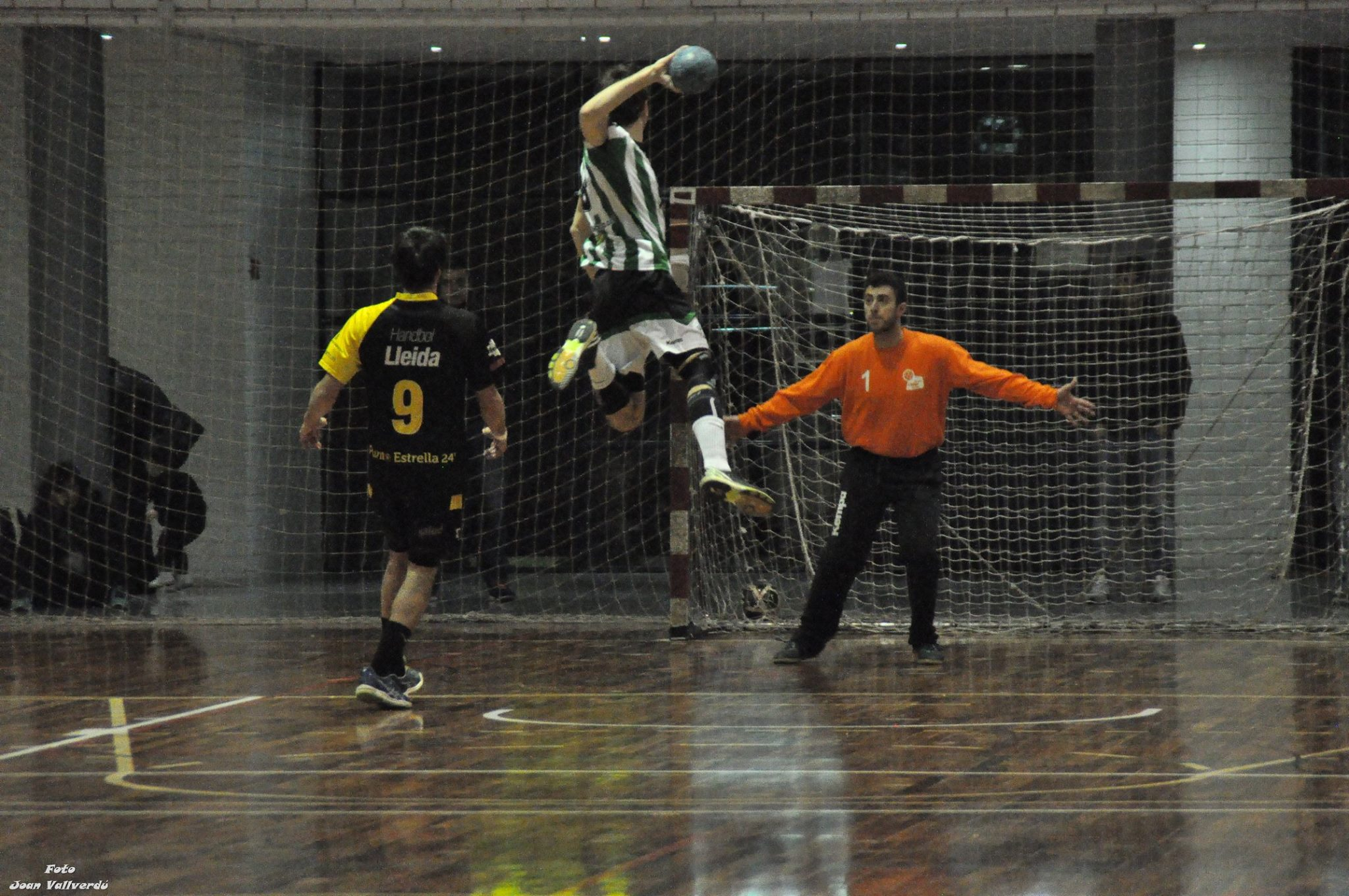 Handbol Lleida Pardiyes Xavi Bosch