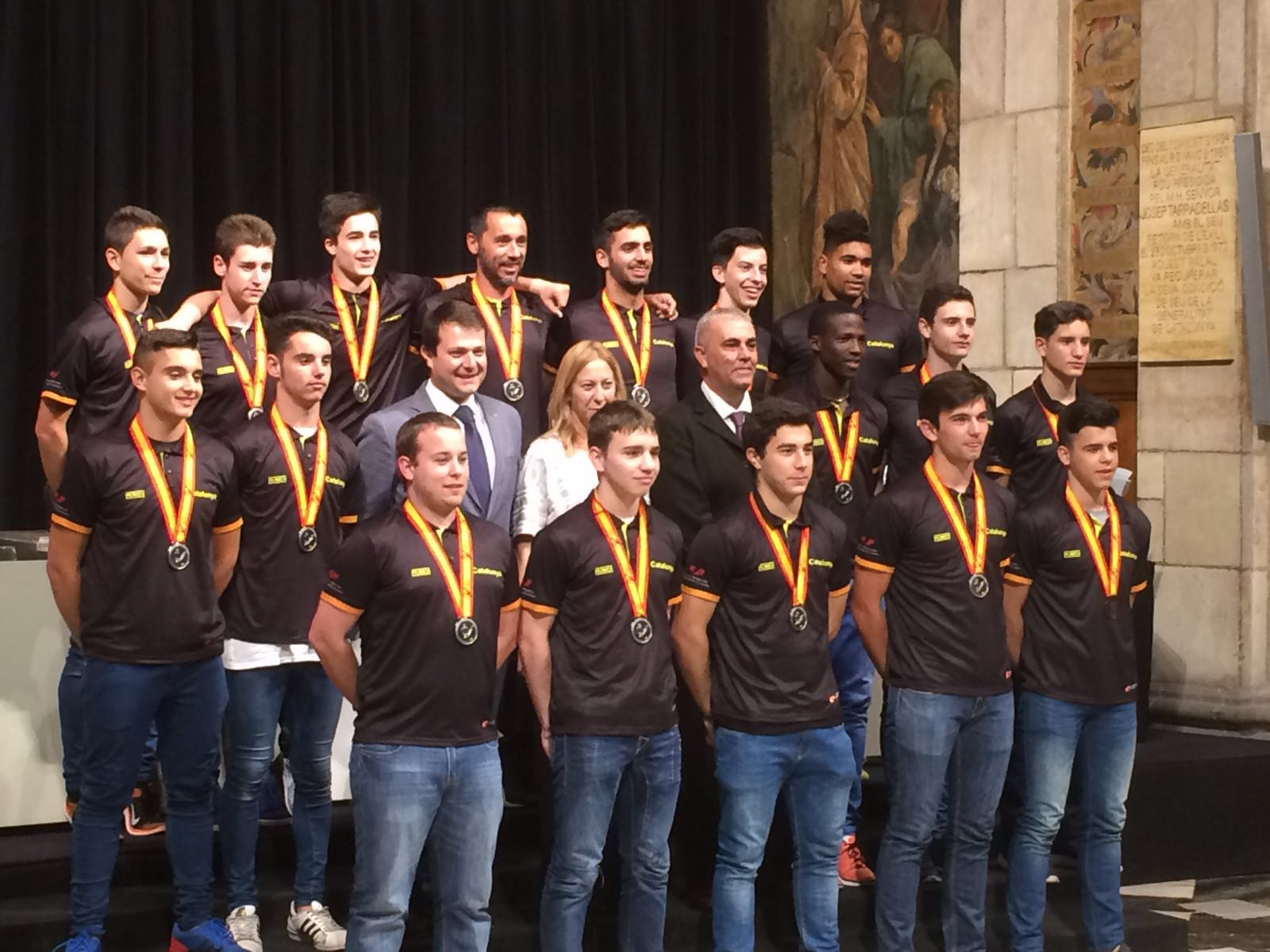 Pau Isern del Pardinyes a la seleccio catalana cadet