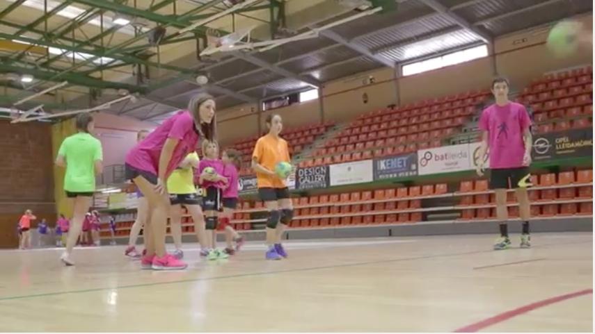 Video clínic Carmen Martin Handbol Lleida Pardinyes