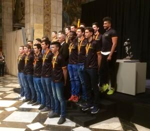 Pau Isern jugador del CH Lleida Pardinyes integrant de la seleccio catalana cadet 1