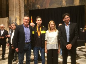 Pau Isern jugador del CH Lleida Pardinyes integrant de la seleccio catalana cadet 4